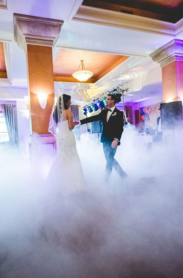 Owsietlenie sali weselne
